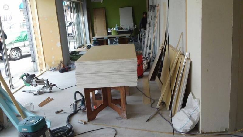 昨日より、内装工事始まりました02